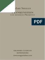 01 Frankenstein o el moderno Prometeo, Mondadori, volumen 1, prefacio a capítulo 3
