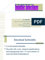 Intestinal Helminthiasis and Filariasis_SGT
