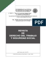 Revista de Derecho Laboral y Seguridad Social-UNMSM
