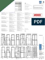 Door & Ironmongery Schedule