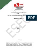 Sistema Politico Peruano e Institucionalidad
