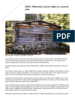 The Journal 01/19/2016 | Miners' secret cabin is a marvel in the snowy San Juans