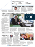 The Daily Tar Heel for Jan. 20, 2016