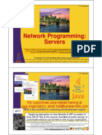 Java Network Programming Servers