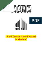 Zaid Zaman Hamid Kazzab in Madina