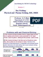Dry Etchiing