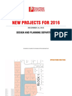 Presentation- New Projects for 2016 121415