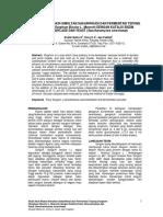 Studi Awal Reaksi Simultan Sakarifikasi Dan Fermentasi