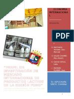 Perfil de Investigacion de Mercado Internacional