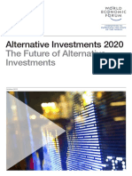 WEF Alternative Investments 2020 Future
