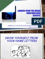 Subconcious Secrets