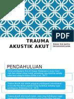 Trauma Akustik Akut Dem