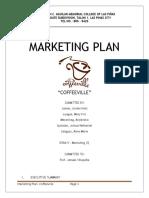CoffeeVille Marketing Plan