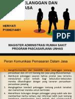 Edukasi Pelanggan Dan Promosi Jasa