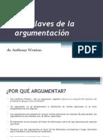 Las Claves de La Argumentación-Anthony Weston