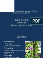 selection tests and network analysis of nod factor presentation