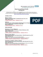 Migration Reading List