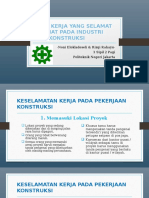 Cara Kerja Yang Selamat & Sehat Pada Industri