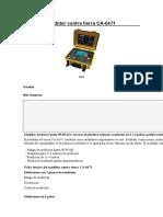 Medidor Contra Tierra CA-6471