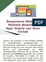 Responsive Website, Mobiele Website & App