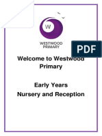 eyfs Welcome Booklet
