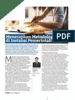 Menerapkan Metodologi Agile di Instansi Pemerintah