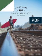Lightning Bolt - Fall Winter 2016 Catalogue