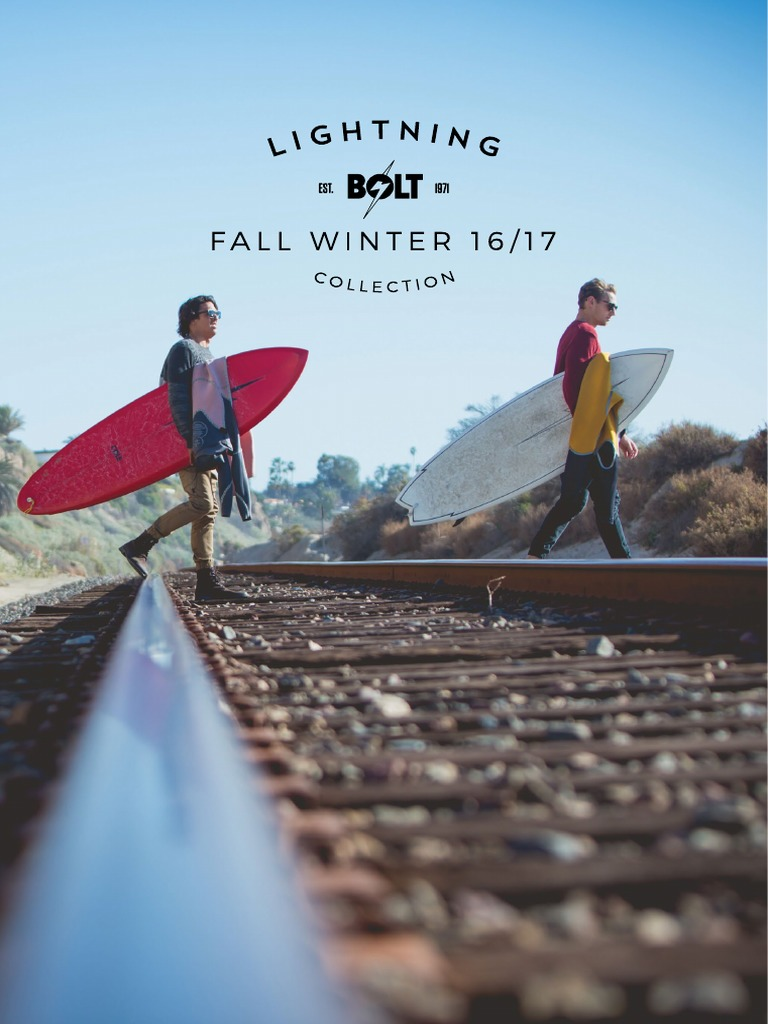 5bc642bcd9b Lightning Bolt - Fall Winter 2016 Catalogue