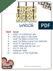 Lyrics Printable