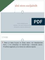 Nacrt istraživanja- Profesionalni Stres Socijalnih Radnika