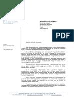 Affaire Kerviel - Lettre à Ch. Taubira