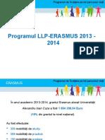 Statistic i Erasmus 20132014