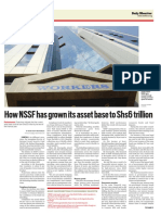 How the NSSF Has Grown Its Asset Base to Shs6 Trillion
