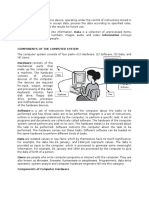 Computer Components and Development
