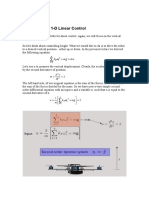 Aerial Robotics Lecture 1B_2 Dynamics and 1-D Linear Control