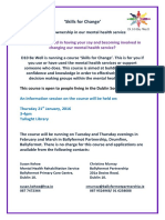 Skills for Change Course