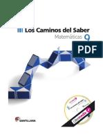 Los Caminos Del Saber Matematicas 9