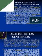 Derecho Penal y Civil en El Common Law