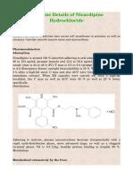 Medicine Details of Nicardipine Hydrochloride