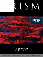 2014 PRISM Syrial Supplemental