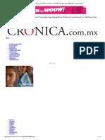 2015 10_1 La Crónica de Hoy _ La Discriminación y La Pobreza (Las Personas Indígenas) - Saúl Arellano