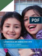 UNICEF La Infancia en Andalucia 2015 (RESUMEN)