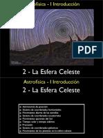 Astrofisica Esfera Celeste