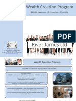 Wealth Creation Program Brochure River James Ltd