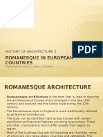 Romanesque in European Countries - Final Report