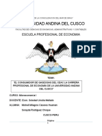 CONSUMIDOR DE GASEOSAS