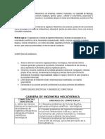 Misión, Vision y Competencias de Mecatrónica