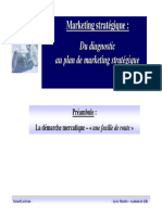 marketing Strategique Preambule Et Mise en Perspective
