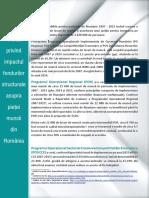 Analiză privind impactul fondurilor structurale asupra pieţei muncii