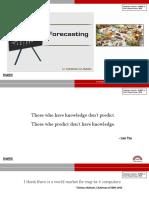 ForecastMETHODS_TECHNIQUES